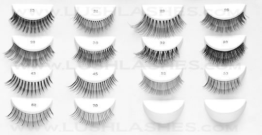 Natural False Eyelash Collection makes everyday wear possible.